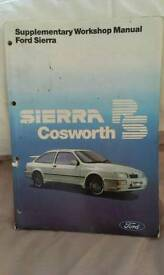 RS Sierra cosworth original workshop manual