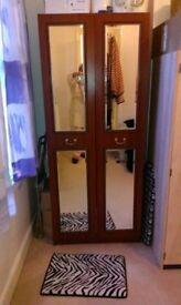 Twin Mirrored wardrobe