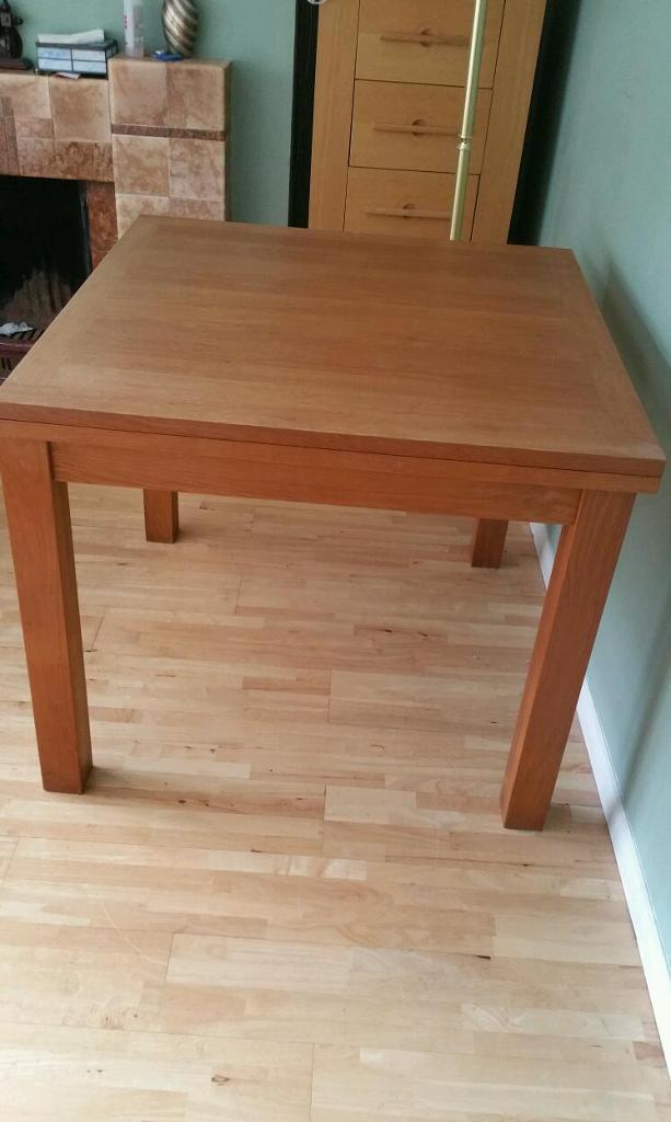 laura ashley brompton oak extending dining table | in falls road