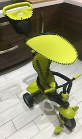 Trike with sunshade