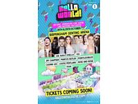 LESS THAN FACE VALUE!! 3 X HELLOWORLD YOU TUBERS TICKETS BIRMINGHAM 28TH OCT CAN POST OUT
