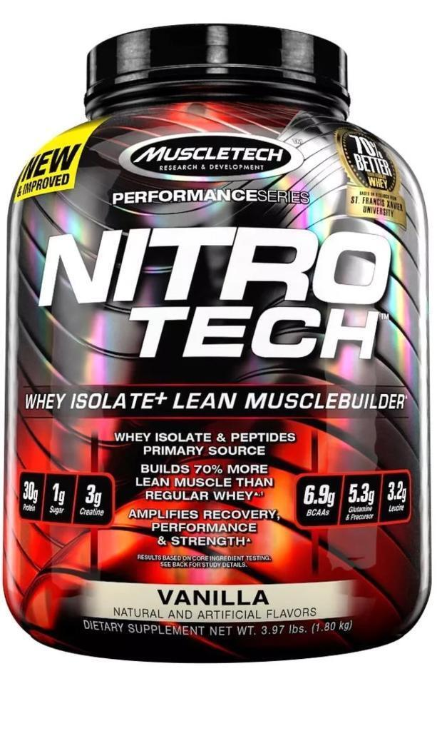 SHORT DATE Muscle Tech Nitro Whey Isolate Protein 18kg