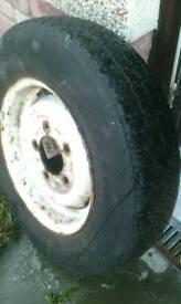 Landrover wheel