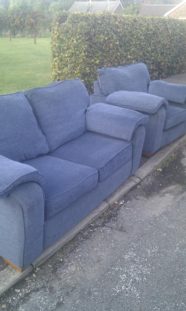 Sofa Bed & Armchair