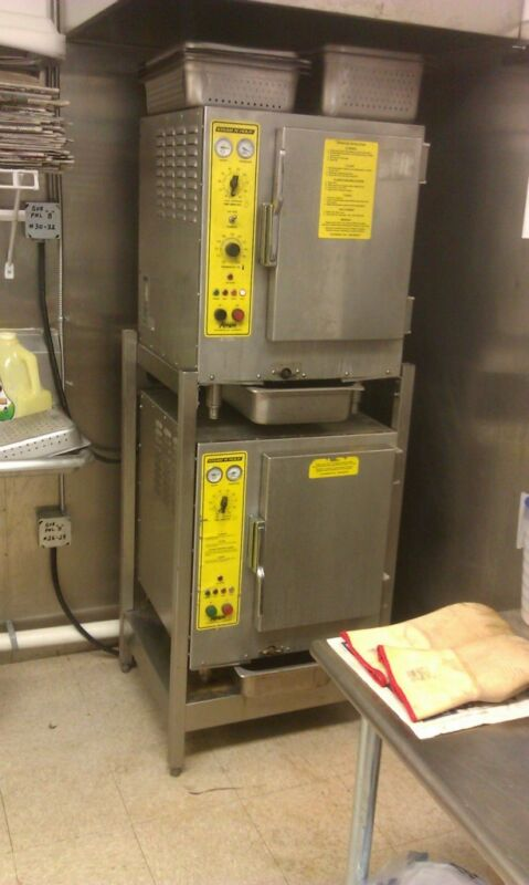 commercial stainless steel steamers