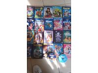 26 children's DVD films.