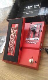 DigiTech Whammy 5 Pitch Shifting Guitar Pedal + Original Packaging & Manual