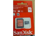 625 x SanDisk MicroSDHC card with adapter