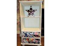Star Wars Theme Shabby Chic Pine Drawer Unit