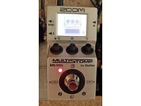 Zoom Multistomp MS-50g multi-effects guitar pedal, vgc, inc p&p (MS50g multi effects)