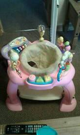 Baby activity centre pink
