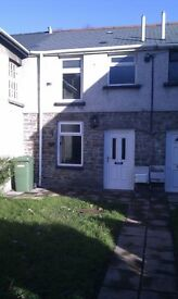 Hopkinstown Pontypridd 2 bedroom cottage would suit working couple small garden to front