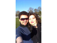 ---==< Nice couple looking for 1 or 2 bedroom flat in Bournemouth >==---