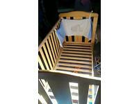 Damaged cot