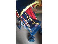 Little Tykes Glider Vintage 90s Pushchair Pram Buggy
