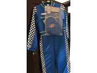 Brand new racing driver outfit age 11-12 years