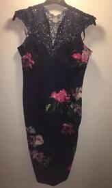 AX PARIS FLORAL DRESS BRAND NEW WITH TAGS