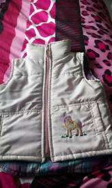 little Girl's horse body warmer