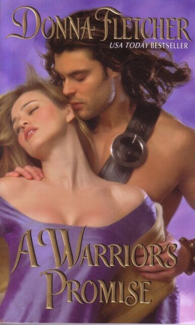 Donna Fletcher  A Warrior's Promise   Historical Romance   Pbk NEW
