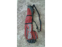 Ping moonlite 2 golf pencil carry bag