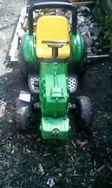 6v Stumpy John Deere Electric Powered Sit-on Tractor