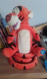 Bouncy talking tiger :)
