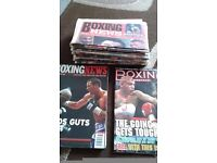 Boxing magazines