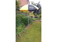 Strongbow Garden Umbrella - as new, never used