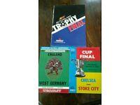 Stoke/Vale/England Football memorabilia