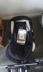 Silvercross pram and car seat