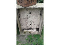 OLD CONCRETE SINKS