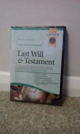 Last Will And Testament (Do It Yourself) CD Software