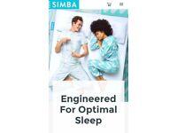 Ex display double Simba Mattress