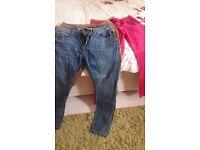 3x pairs ladies trousers