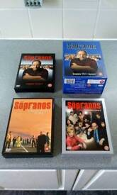 The Sopranos. All 6 seasons DVDs.