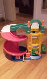 Fisher Price Little People garage reduced