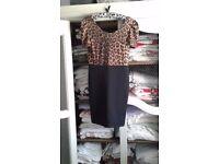 Leopard Bodycon Dress (Size 12)
