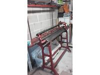 7Gauge STOLL Manual Hand Flat Industrial Knitting Machine £700 ono