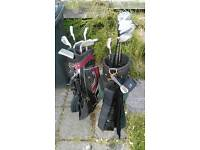 Free - Golf Clubs and Two Bags