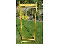 3 X FREE STANDING CLOTHES RAILS