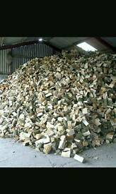 Seasoned kiln dried logs Not Wet Rubbish