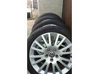 Audi 17 inch wheels