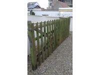 Wood Gate Fence