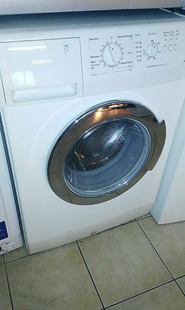 Siemens 1400 wash and dryer comes with 1 month GUARANTEE