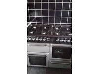 Flavel Duel Fuel Range and extracter fan. Excellent condition