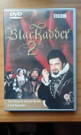 Blackadder DVDs.