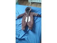 Pram suit 0-3 month from mothercare