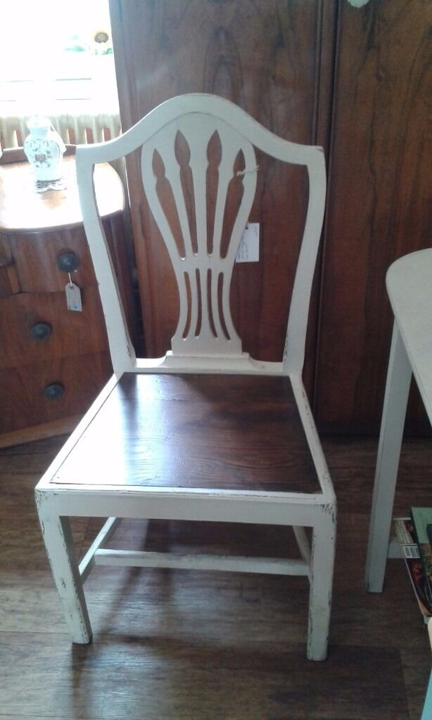 Excellent Annie Sloan Chalk Paint Chair Shabby Chic Hand Painted In Download Free Architecture Designs Scobabritishbridgeorg