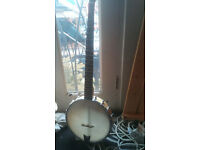 Gold Tone Open Back 5 String Banjo (CC-100)