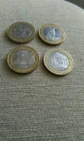 £2 coins